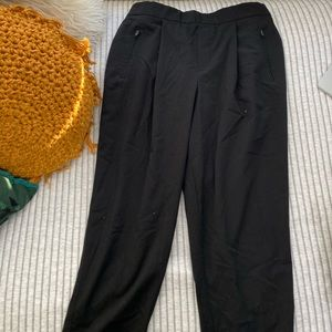 GAP cigarette pant with elastic waistband